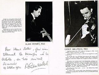 Ernst Wallfisch American musician
