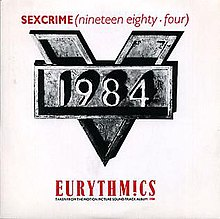 Eurythmics 1984 For The Love Of Big Brother
