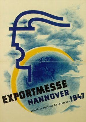 Hannover Messe - Poster for the 1947 fair