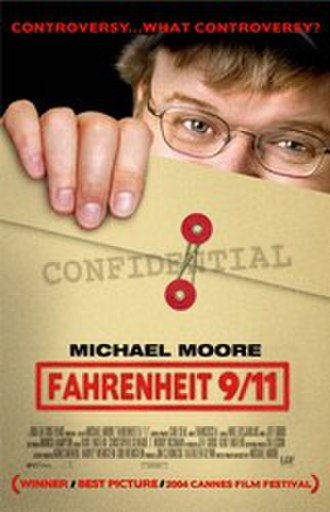 Fahrenheit 9/11 - Alternate Fahrenheit 9/11 poster