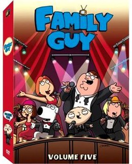 <i>Family Guy</i> (season 5) Episode list for a season of an animated series