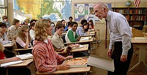 Ray Walston - Walston as Mr. Hand in Fast Times at Ridgemont High, 1982