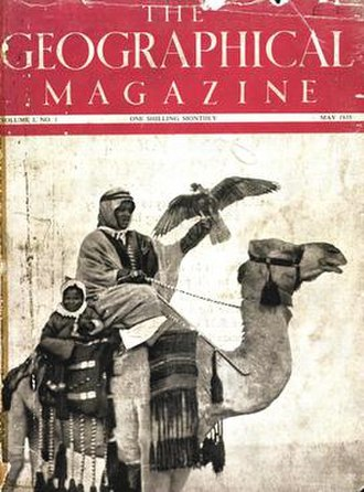 Geographical (magazine) - May 1935 issue of The Geographical Magazine, the first ever issue published