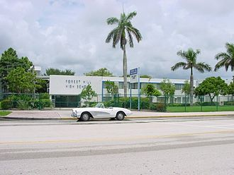 Forest Hill Community High School - Original building