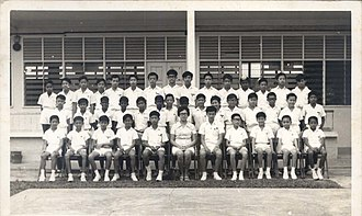 Bukit Bintang Boys' Secondary School - 1971 class photo