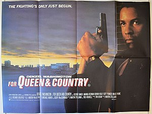 For Queen and Country - Theatrical release poster