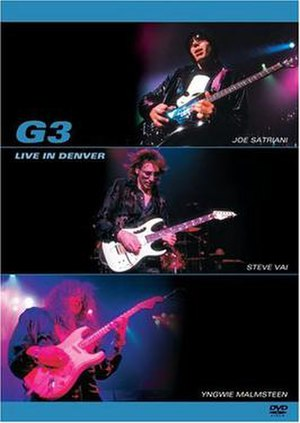 G3 (tour) - G3 - Live in Denver DVD cover