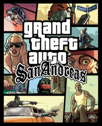 Grand Theft Auto: San Andreas - Image: GTASABOX