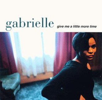 Gabrielle — Give Me a Little More Time (studio acapella)