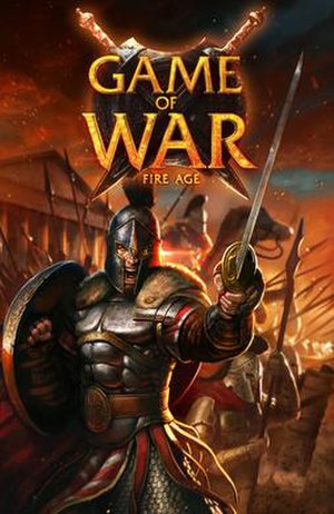 Game of War: Fire Age - Title screen of Game of War: Fire Age
