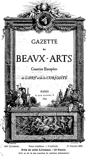 Paul Dukas - Gazette des Beaux-Arts, for which Dukas wrote music criticism