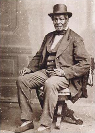 "Black Indians in the United States - George Bonga (1802–1880), ""Black"" fur trader"