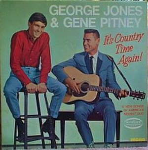 It's Country Time Again! - Image: George Jones & Gene Pitney