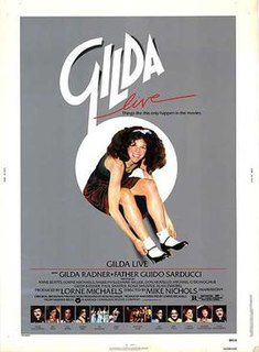 <i>Gilda Live</i> 1980 film by Mike Nichols