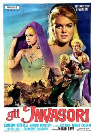 Erik the Conqueror - Italian film poster