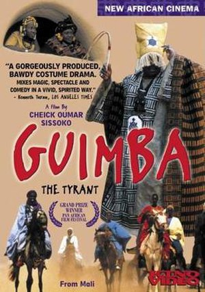Guimba the Tyrant - DVD cover