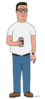 Hank Hill fictional character from King of the Hill