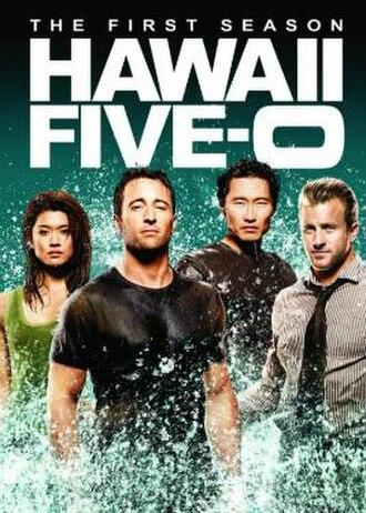 Hawaii Five-0 (2010 TV series, season 1) - Season 1 U.S. DVD cover
