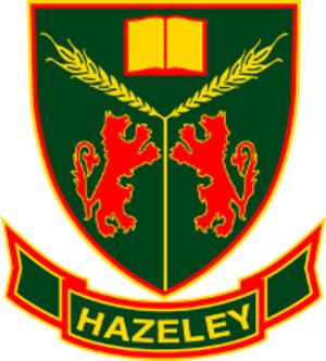 The Hazeley Academy - Image: Hazeley Crest