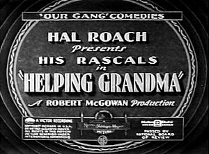 Helping Grandma - Image: Helping grandam