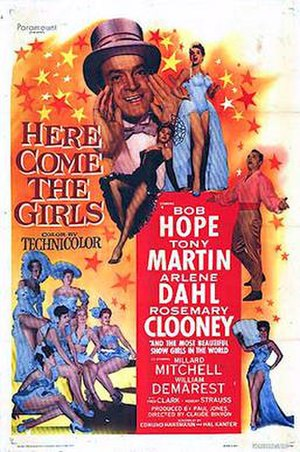 Here Come the Girls (1953 film) - 1953 Theatrical Poster