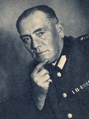 Herms Niel - Herms Niel in Reichsarbeitsdienst uniform