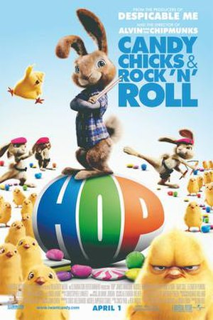 Hop (film) - Theatrical release poster