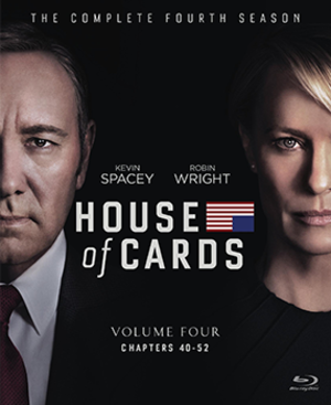 House of Cards (season 4) - Blu-ray cover