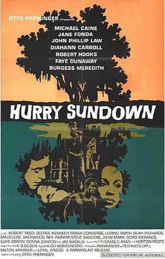 Hurry Sundown (film) - Original poster