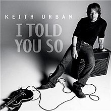 i told you so keith urban song wikipedia