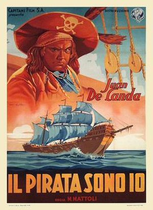The Pirate's Dream - Italian theatrical release poster