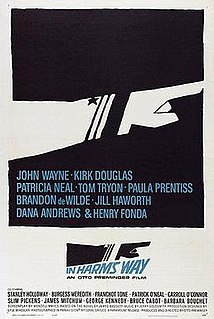 <i>In Harms Way</i> 1965 film by Otto Preminger