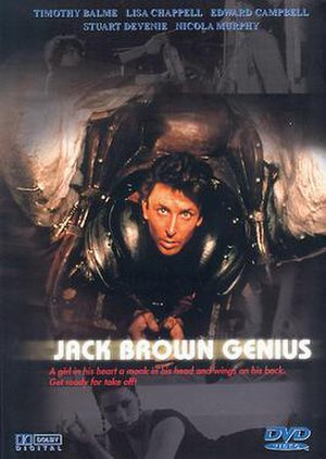 Jack Brown Genius - DVD cover