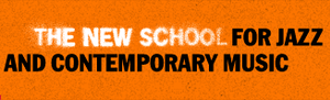 School of Jazz (The New School) - Earlier logo as The New School for Jazz and Contemporary Music