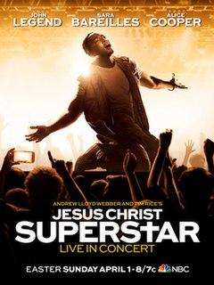 <i>Jesus Christ Superstar Live in Concert</i> 2018 American live musical television special