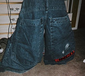 """JNCO - Example of baggy """"JNCOs"""""""