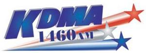 KDMA - Image: KDMA AM radio logo