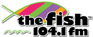 KFIS - Image: KFIS the Fish 104.1 logo