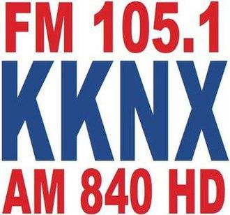 KKNX - Image: KKNX Radio 84 logo