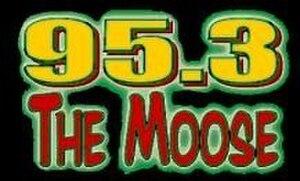 KUJZ - The Moose logo