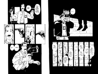 Paul Grist - Panels from Kane (1994)