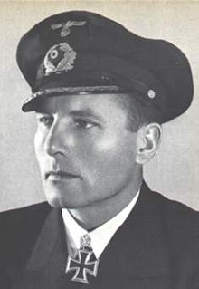 Karl-Friedrich Merten German World War II U-boat commander