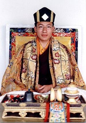 Trinley Thaye Dorje - Trinley Thaye Dorje in ceremonial costume