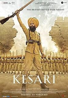 <i>Kesari</i> (2019 film) 2019 film directed by Anurag Singh