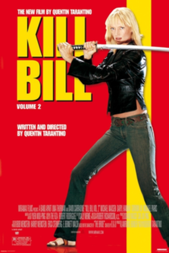 Kill Bill: Volume 2 - Theatrical release poster