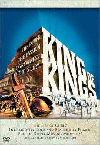 King of Kings (1961 film) - DVD cover by Reynold Brown