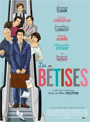 Les Bêtises (film) - Film poster