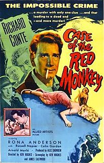 <i>Little Red Monkey</i> 1955 British spy film directed by Ken Hughes