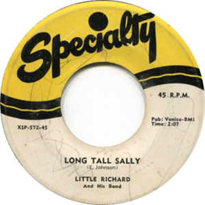 Long Tall Sally - Image: Little Richard And His Band Long Tall Sally