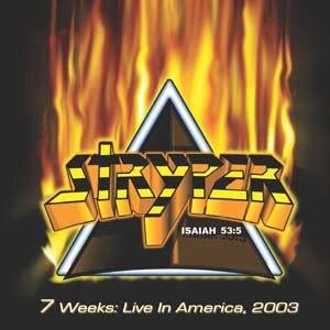 7 Weeks: Live in America, 2003 - Image: Livealbumstryper